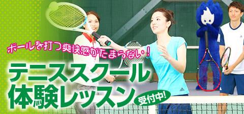 成人テニススクール 体験情報