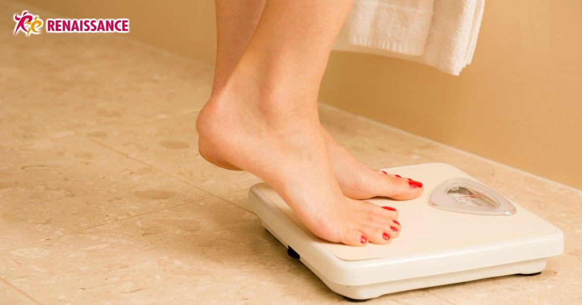 体重減らない 生理後