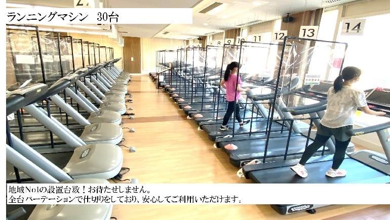 スポーツクラブ ルネサンス 広島緑井の画像